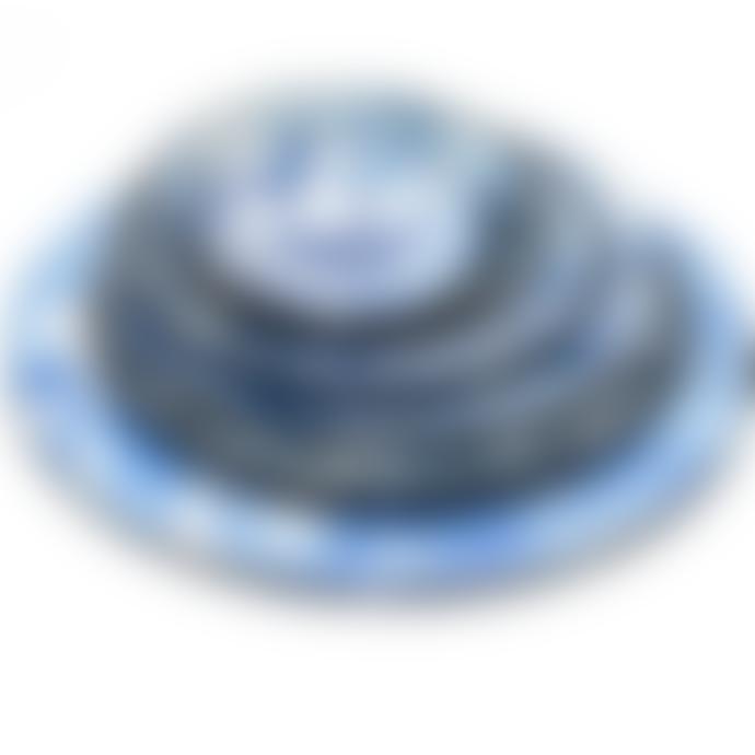 Bornn Blue Swirl Marble Pasta Dish