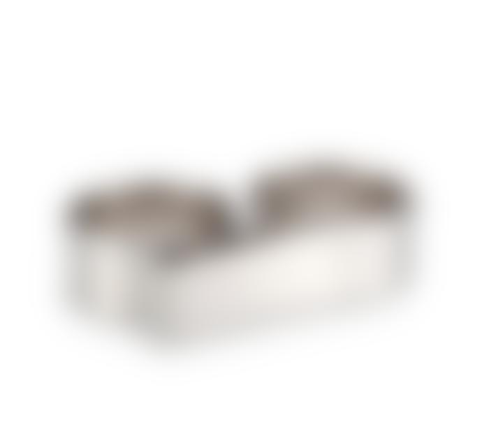 Jenny Bird Rhodium Serra Ring