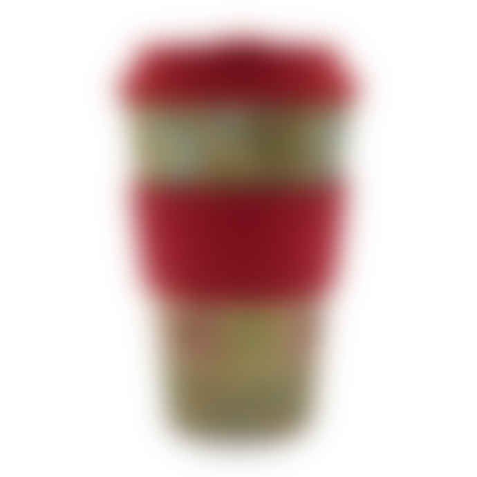 Ecoffee Cup William Morris Corncockle Reusable Bamboo Coffee Cup 14oz