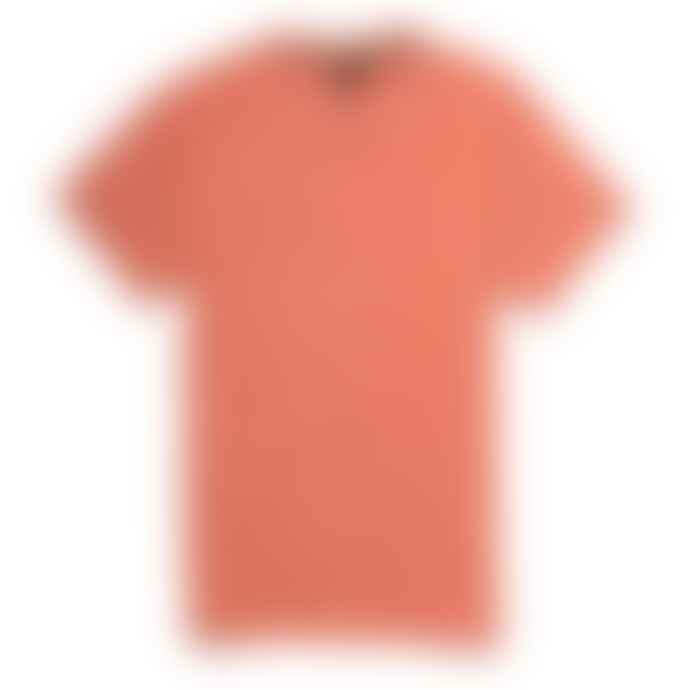 Deus Ex Machina Orange Rust Dogon Plain Tee