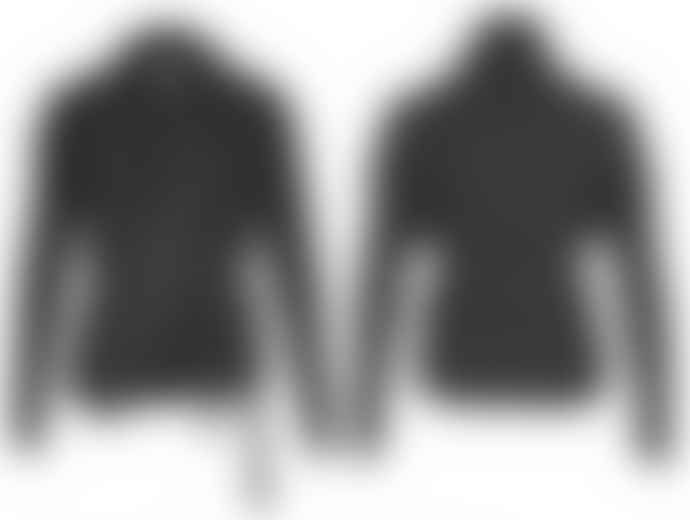 Format BIND Black Sweat Fluffy Cardigan