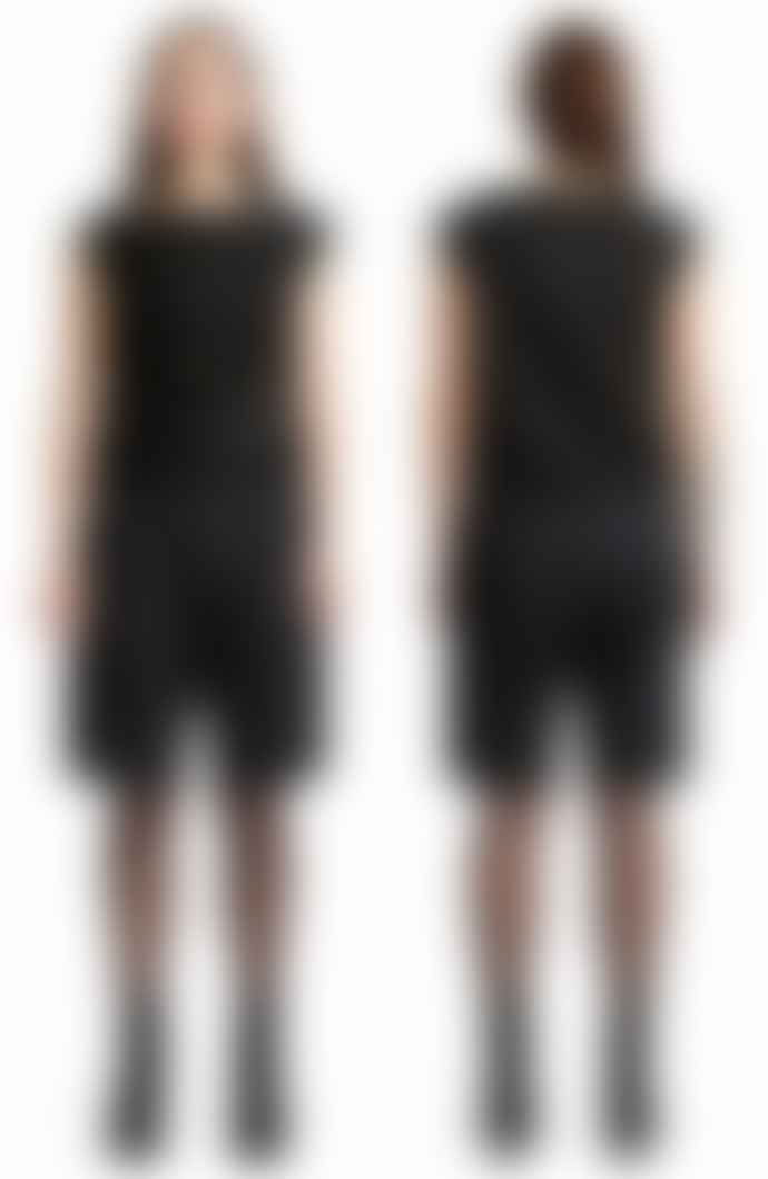 Format COSYII Black Plain unisex Shorts