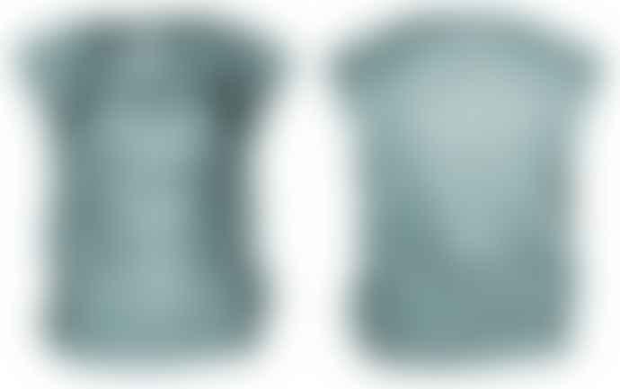 Format LIZZ Green Grey Silk Lizz Blouse