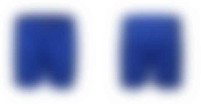 Format TREK Blue Canvas Shorts