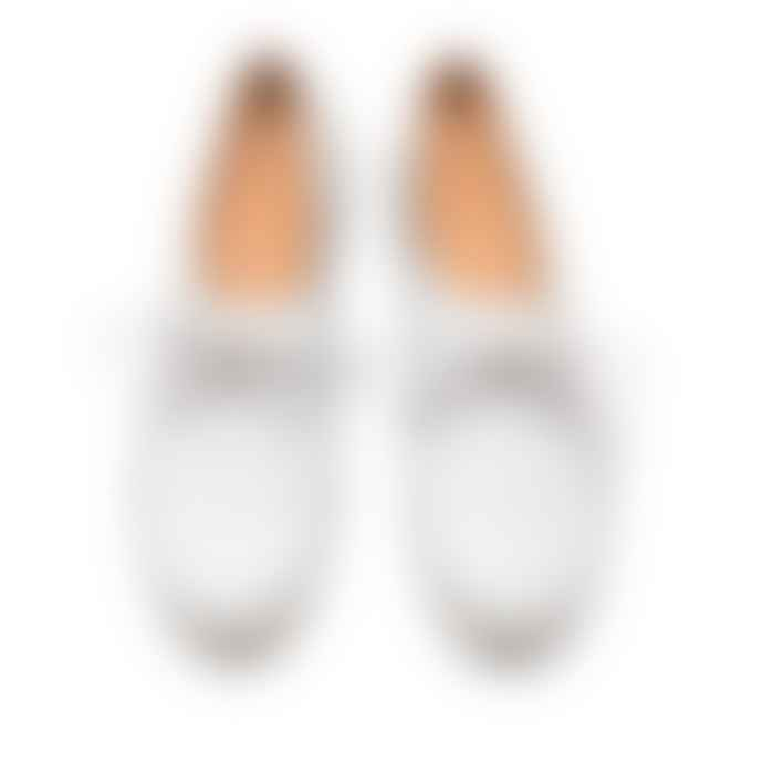 Tracey Neuls Geek Silver Reflective Flat Shoe