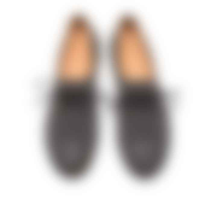 Tracey Neuls Geek Black Reflective Flat Shoe