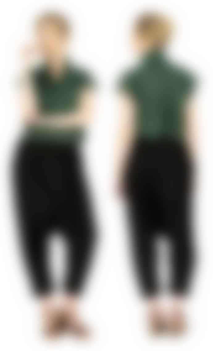 Format TOAT Green Plain Blouse