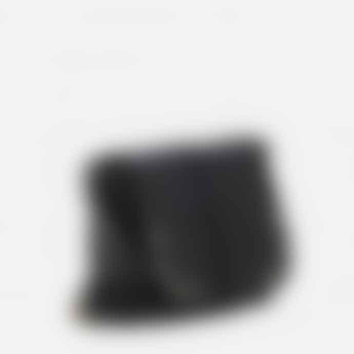 Mercules Black Greyhound Leather Bag