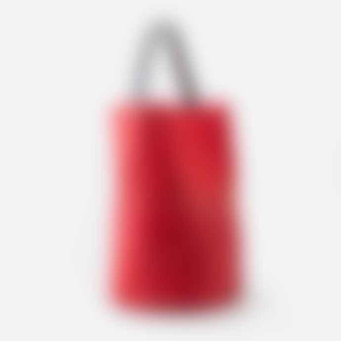 Mercules Red Racer Leather Bag