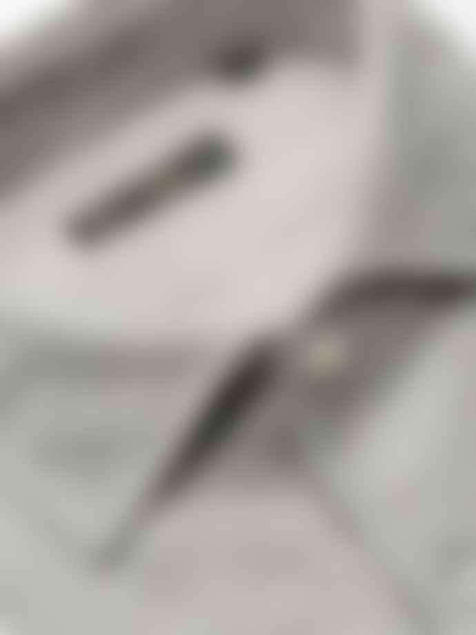 Corneliani Grey Linen Shirt