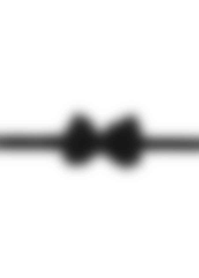 Diverso Black Velvet Handmade Bow Tie
