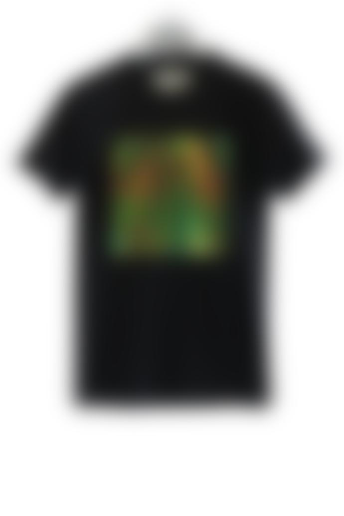 starstyling Black Reptil Iridescent Big Square T Shirt