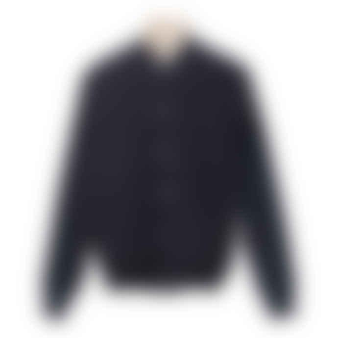 A.D.Deertz Navy Wool Cana Jacket