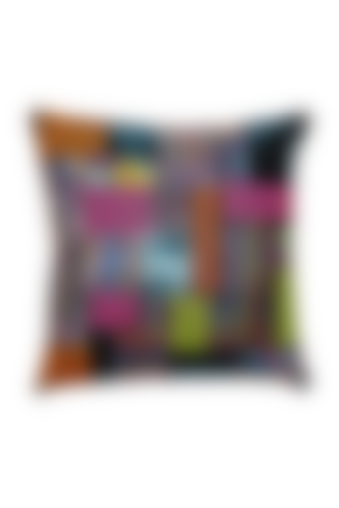 "starstyling ""Plotter"" Cushion Black Multi"