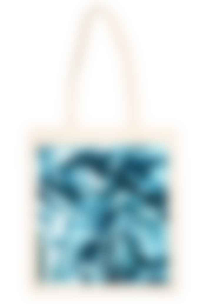 """starstyling """"Big Square"""" Tote Bag Blue Mirror"""