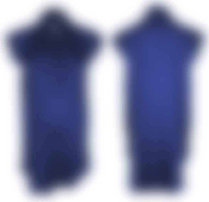 Format TOAT Blue Silk Blouse