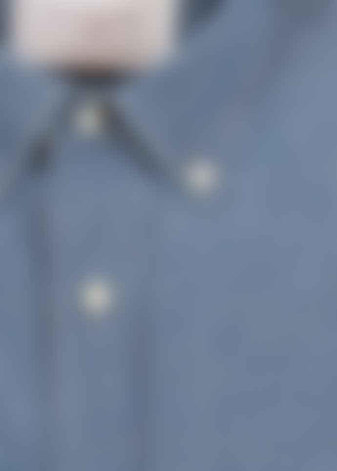 Diverso Washed Denim Button Down Shirt