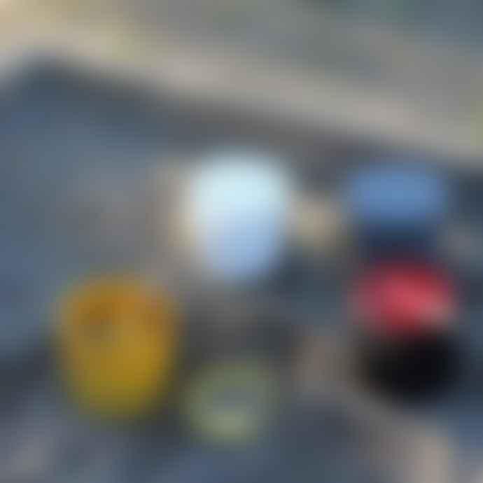 Hachiman Omnioutil Storage Bucket & Lid Medium in Dark Grey