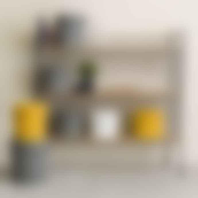 Hachiman Omnioutil Storage Bucket & Lid Small in Dark Grey