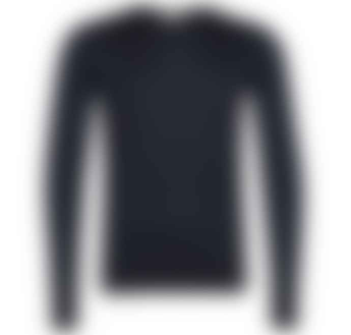 John Smedley Midnight Crew Neck Long Sleeve Lundy Pullover