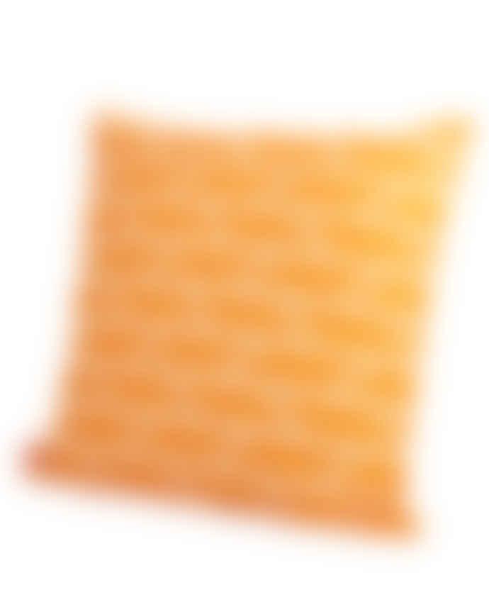 Laura Spring Orange Convergence Cushion