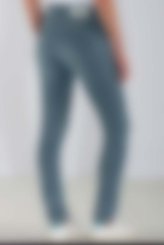 Mud Jeans MUD Fave Straight Racy Lanx Jeans in Blue
