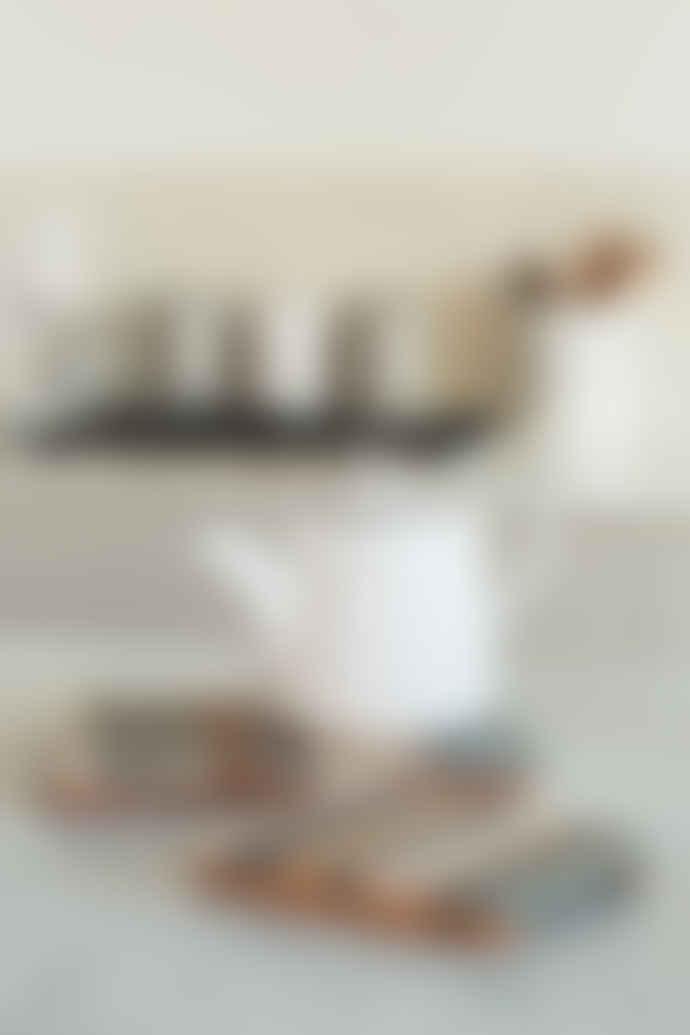 T&G Grey/White Drift Large Wooden Trivet