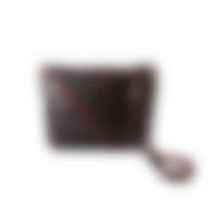 ismadlondon Poppy Woven Crossbody Bag