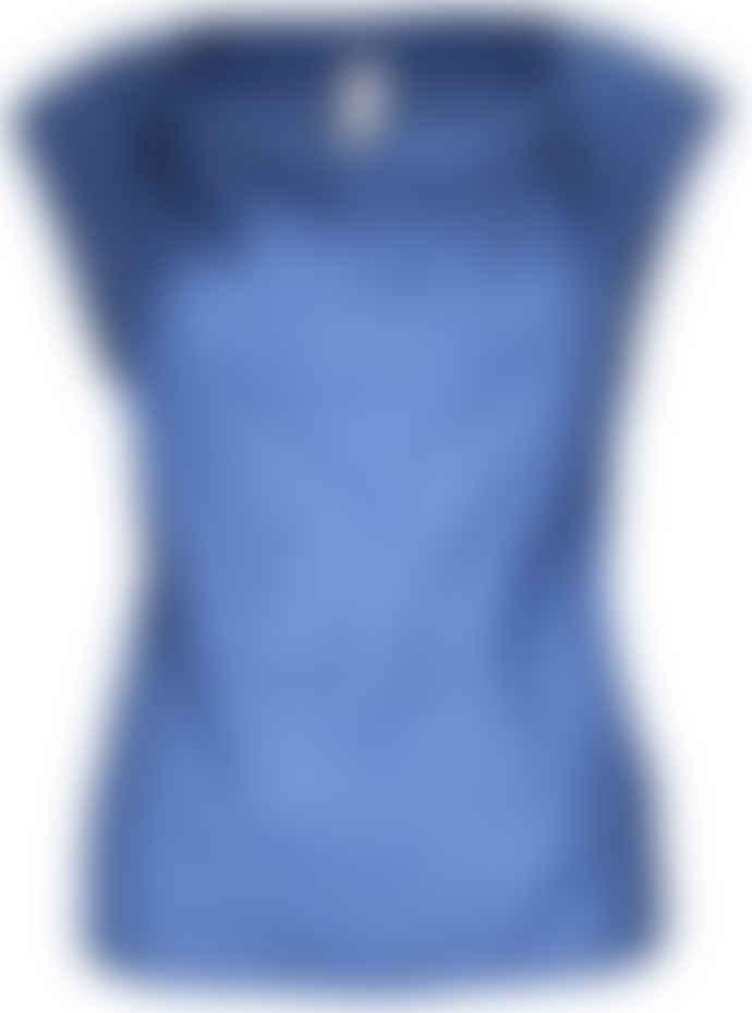 Format LIZZ Blue Plain Blouse