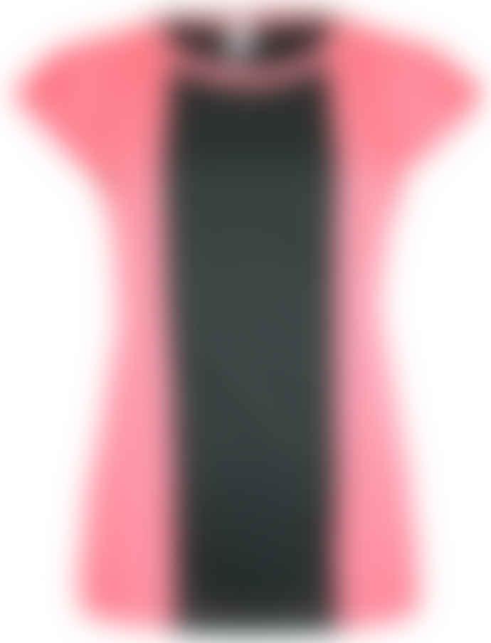 Format BASE Rose & Black Single Plain T-Shirt