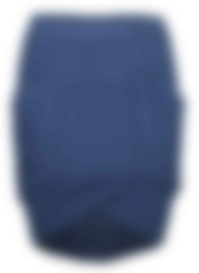 Format ELOT Dark Blue Sweat Fluffy Skirt