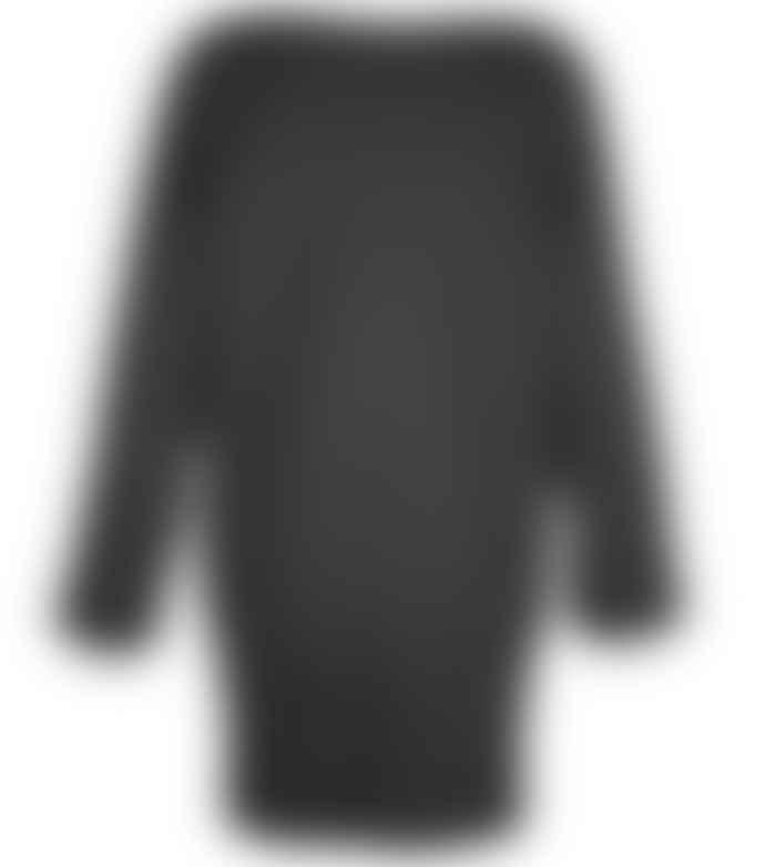 Format DEAR Black Sweat Dress