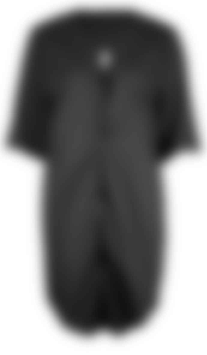 Format ILSE Black Plain Dress