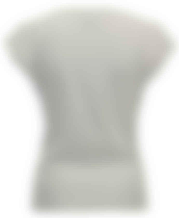 Format OATS Blue Ecru Denim Single Blouse