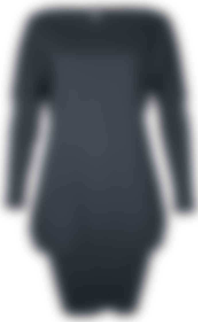 Format POKE Black Interlock Dress