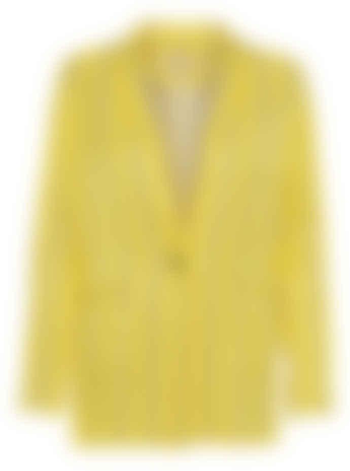 Custommade Yellow Petrina Blazer