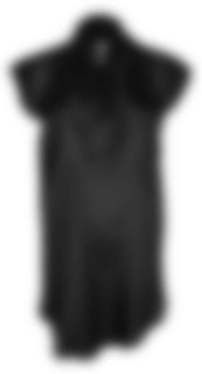 Format TOAT Black Silk Dress Blouse