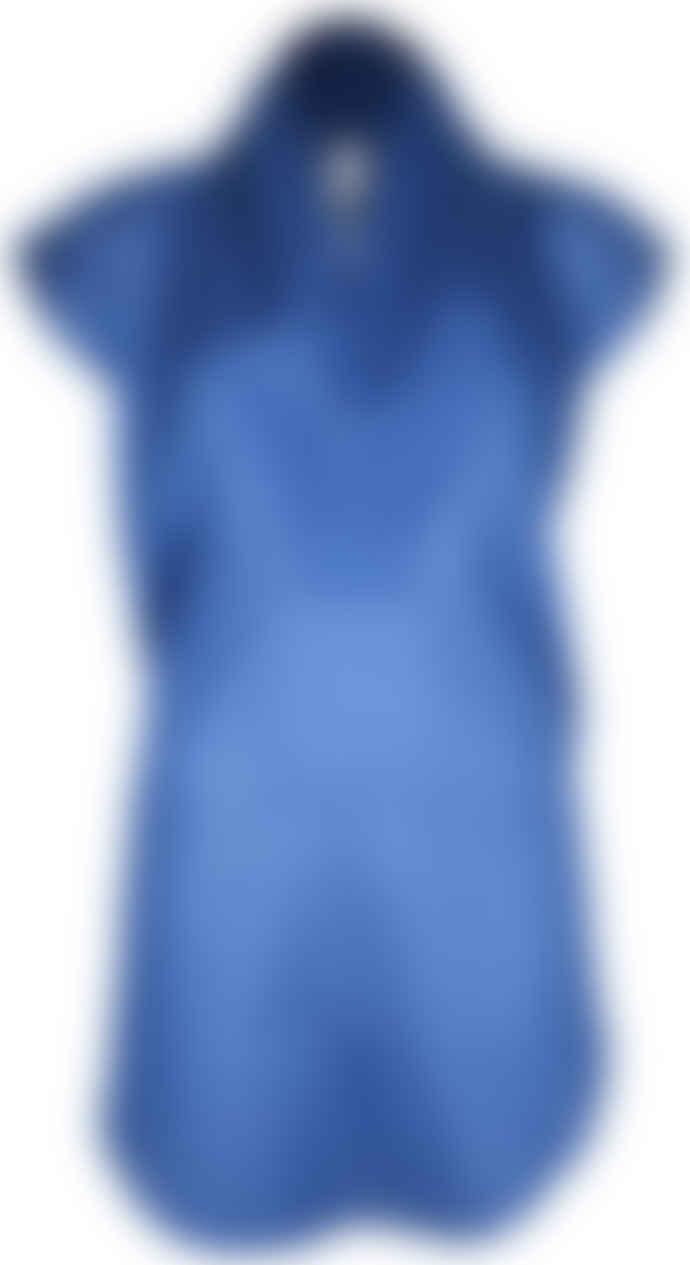 Format TOAT Blue Plain Blouse