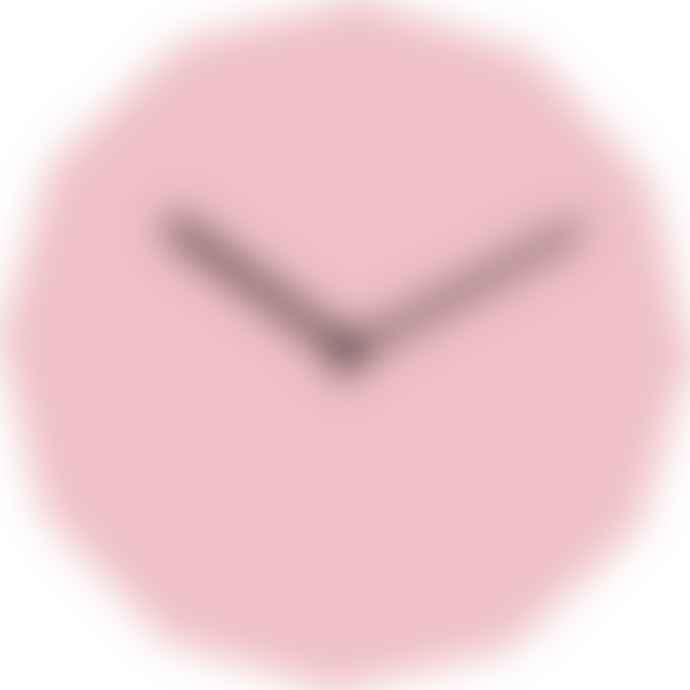 NEO/CRAFT Pink Twelve Clock