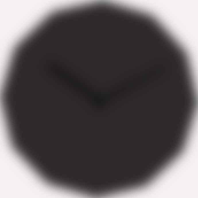 NEO/CRAFT Black Twelve Clock