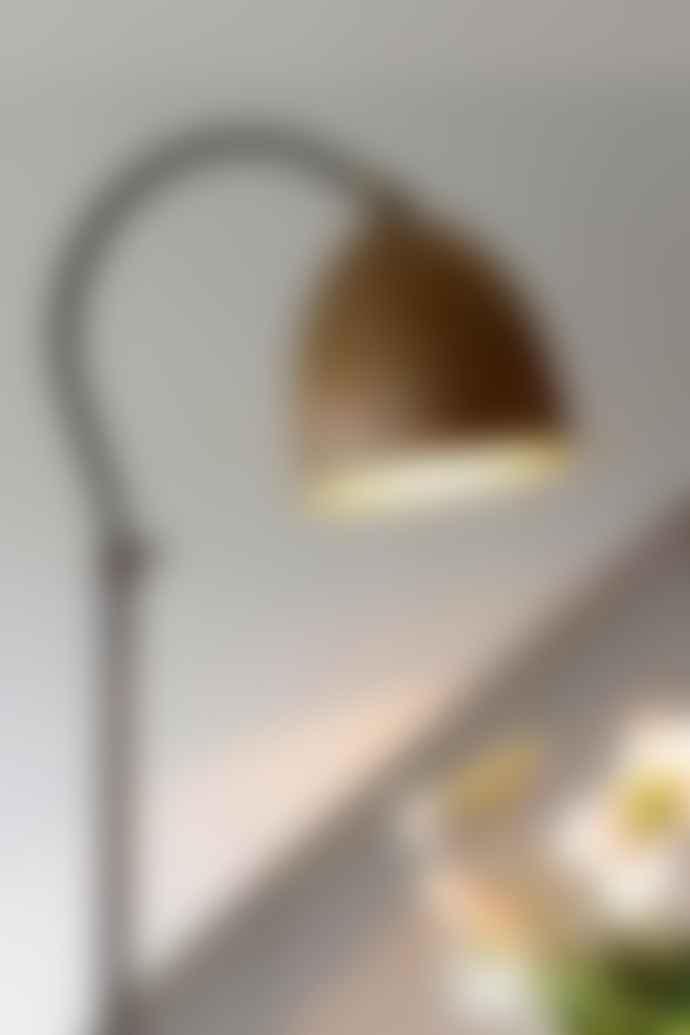 Tierlantijn Delphi Adjustable Desk Lamp With Copper Shade