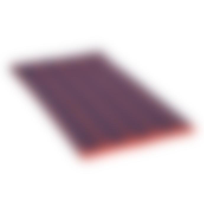 Jennifer Kent Navy & Orange Frame Blanket