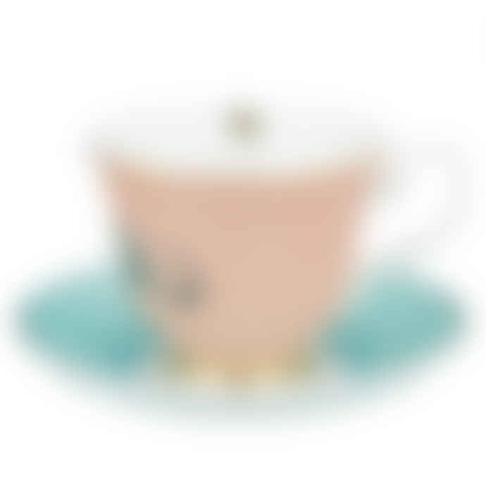Yvonne Ellen Elephant Cup And Saucer
