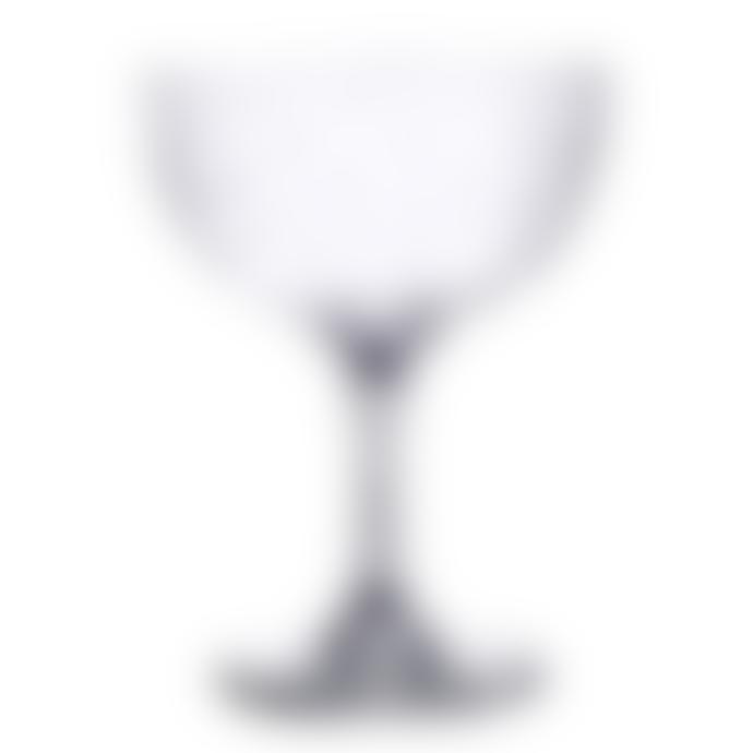 The Vintage List Set Of 6 Stars Vintage Champagne Saucer Glasses