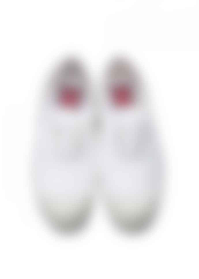 Bensimon White Lace Up Tennis Shoe