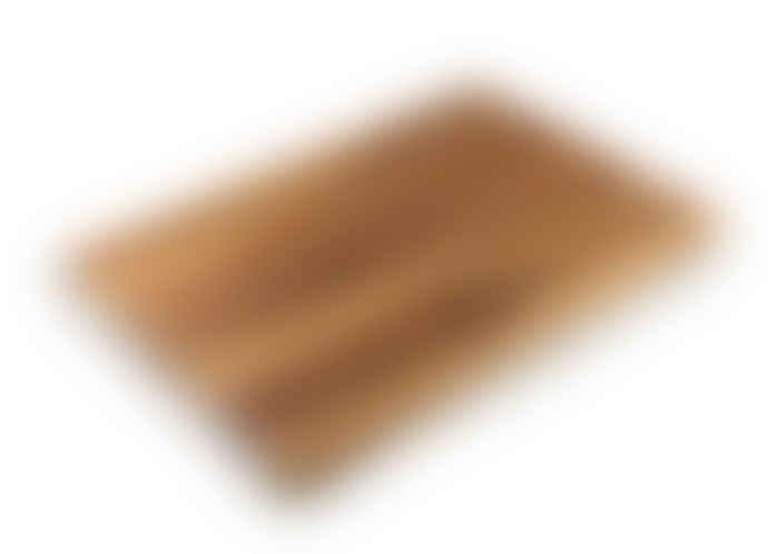 Global  Pro Acacia Wooden Cutting Board 35 x 25 x 4.5cm