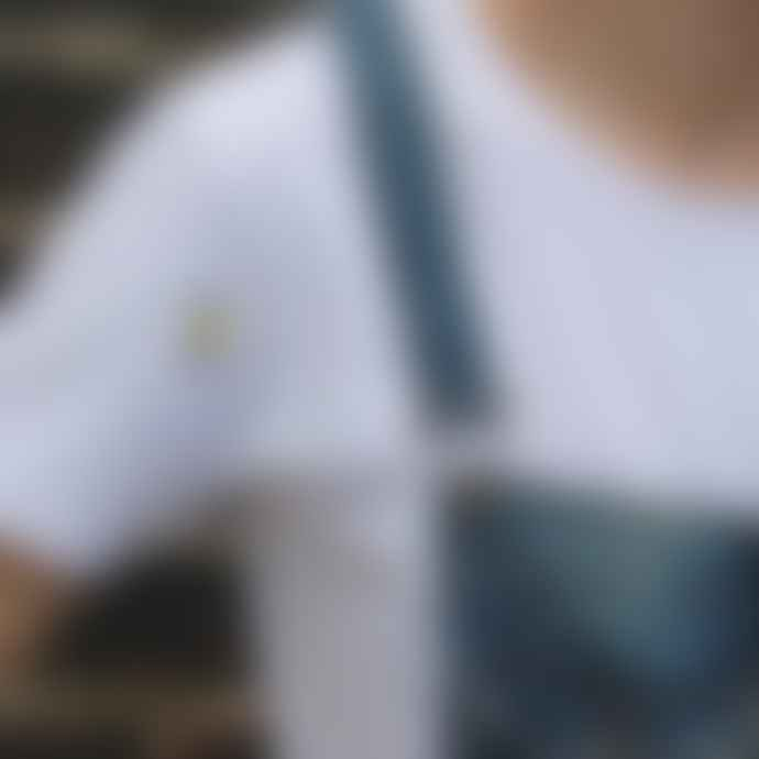 Ingmarson White Bee Embroidered T Shirt