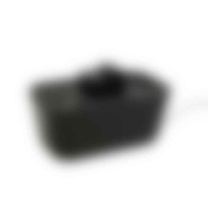Bosign Hideaway Cable Tidy Organisor Black & Black in Medium Size