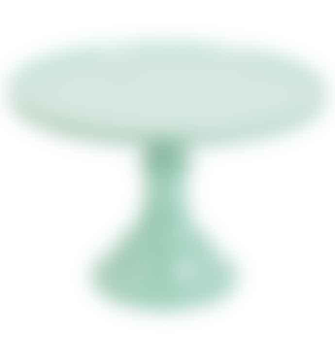 LLC Large Mint Melamine Cake Stand