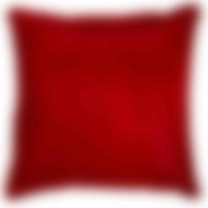 Angel des Montagnes Red Cowhide Cushion